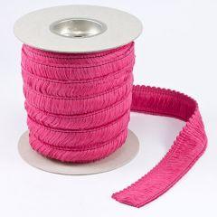 Sunbrella Trim 07300-5462 Acrylic Brush Fringe 2 inch Hot Pink