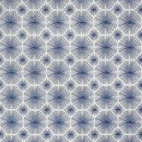Silver State Sunbrella Sparkler Indigo Roman Holidays Collection Upholstery Fabric