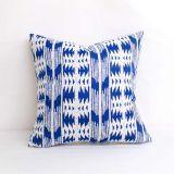Indoor/Outdoor Silver State Sunbrella Arapaho Moonbeam - 20x20 Throw Pillow (quick ship)