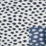 Sunbrella Agra Indigo 145147-0000 Fusion Collection - Reversible Upholstery Fabric (Light Side)