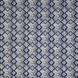 Silver State Sunbrella Cape Town Indigo Roman Holidays Collection Upholstery Fabric